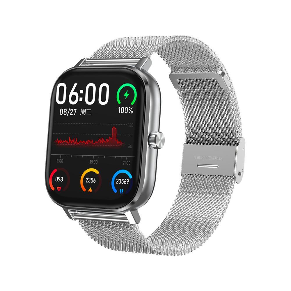 Orologio Smartwatch Tecnochic Silver Maglia Milano - TECNOCHIC