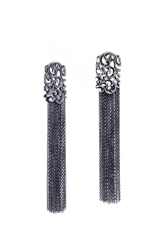 Orecchini Maria e luisa jewels  con pendente e catenelle - MARIA LUISA