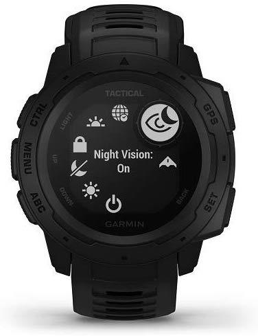 Orologio Instinct Tactical Black - GARMIN