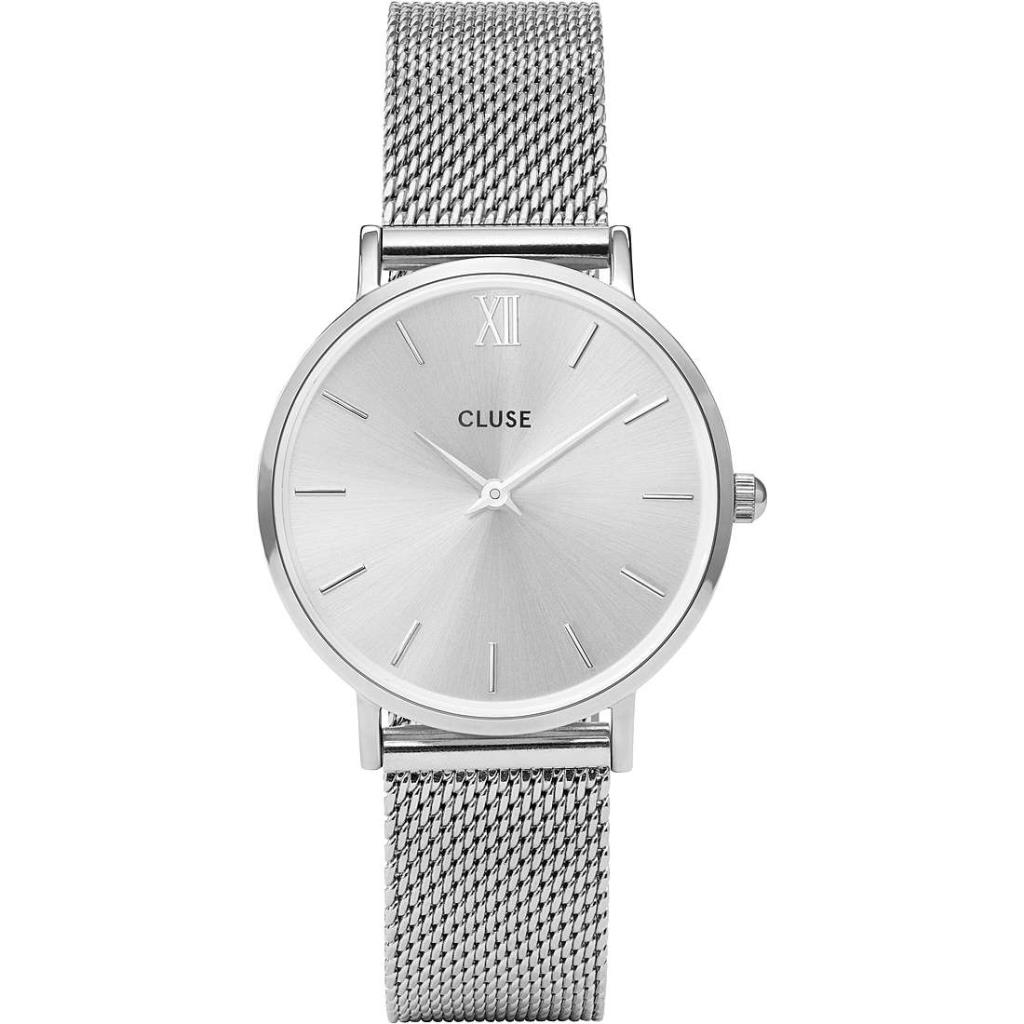 Minuit Mesh Silver, Silver/Silver - CLUSE