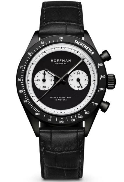 Orologio Hoffman Racing 40 Black and White - HOFFMAN
