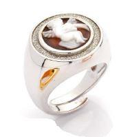 Anello Cameo Putto - CAMEO ITALIANO