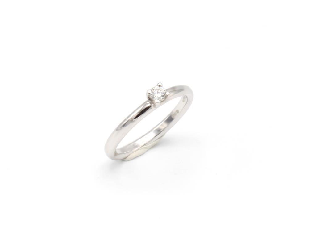 Anello Solitario Diamante - LORENZO SEGONI DIAMONDS