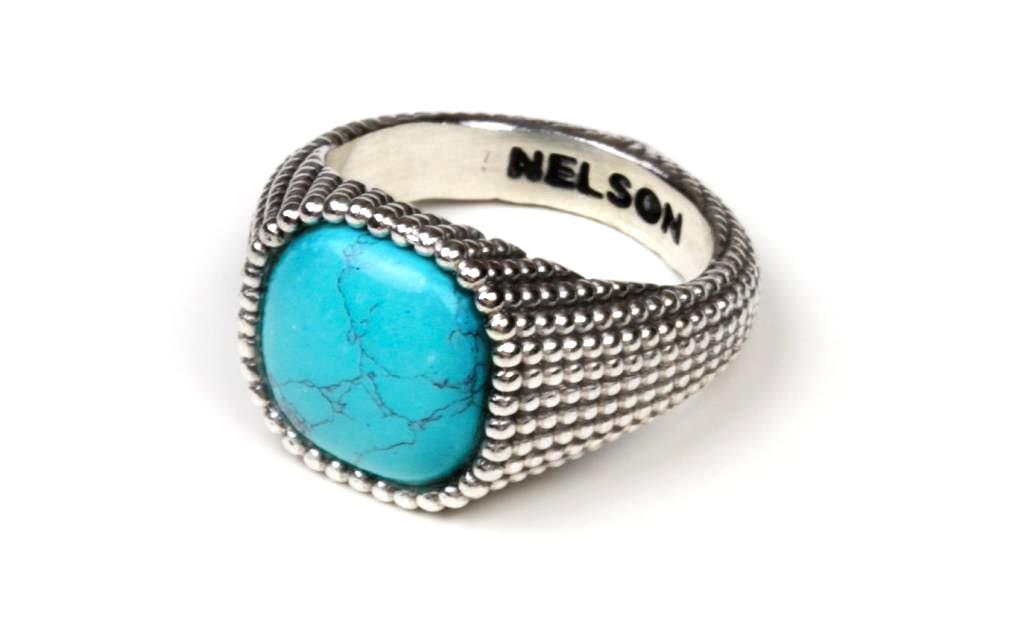 Anello Nelson Bastille Turchese - NELSON