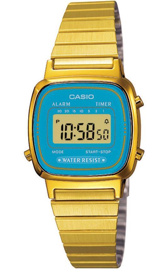 Orologio Casio Gold/Azzurro Piccolo - CASIO
