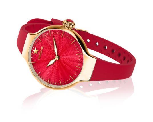 Orologio Hoops Cherie Gold/Rosso - HOOPS