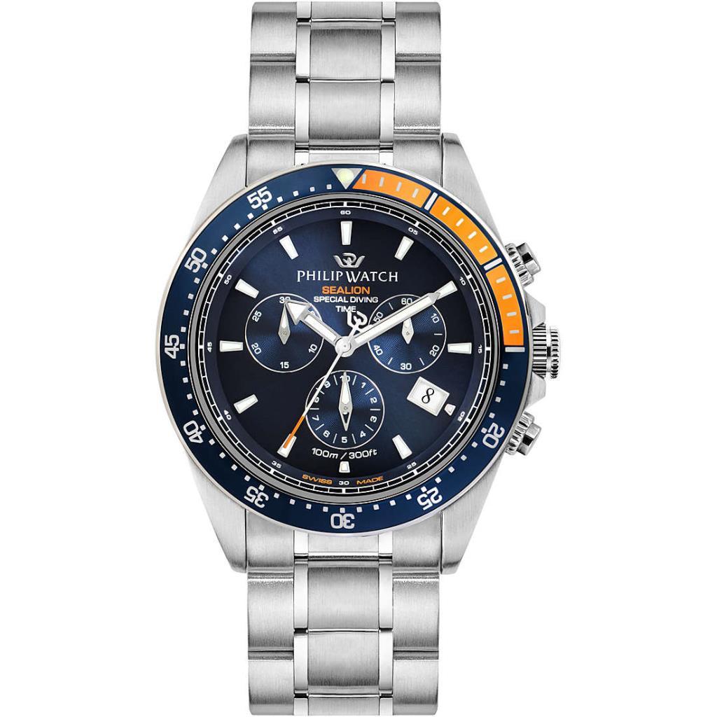 orologio cronografo uomo Philip Watch Sealion - PHILIP WATCH