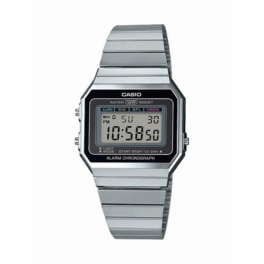 Orologio Casio Silver/Nero - CASIO