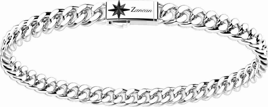 Bracciale Zancan Argento Maglia Groumette - ZANCAN
