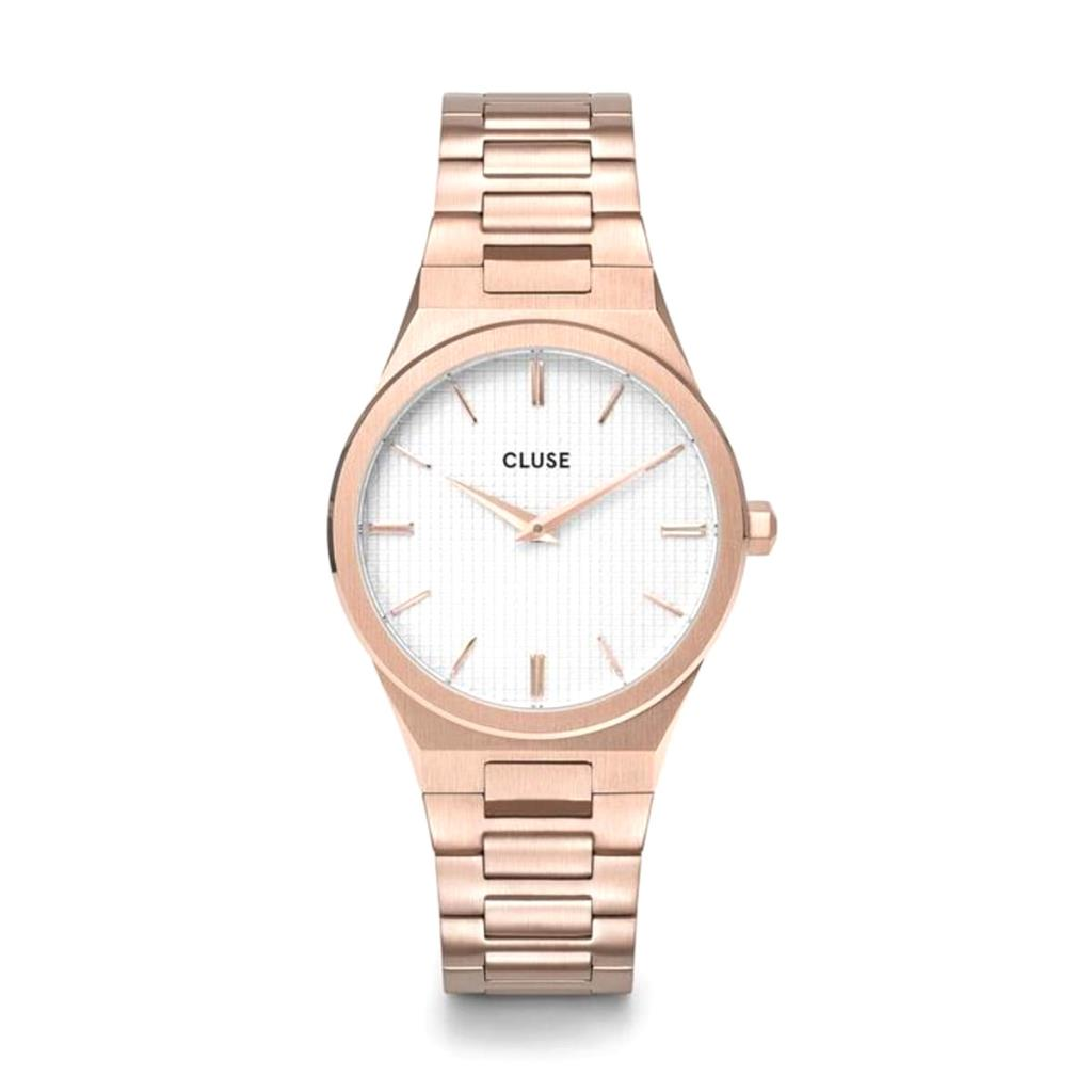 Orologio Cluse Vigoureux Steel White, Rose Gold Colour - CLUSE