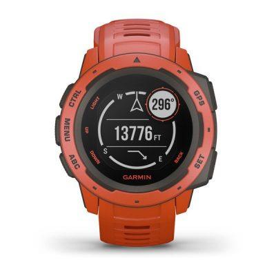 Orologio instinct GPS Flame Red - GARMIN