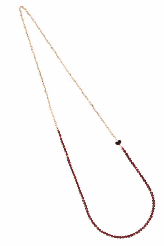 Collana con pietre di Granato - MAMAN ET SOPHIE